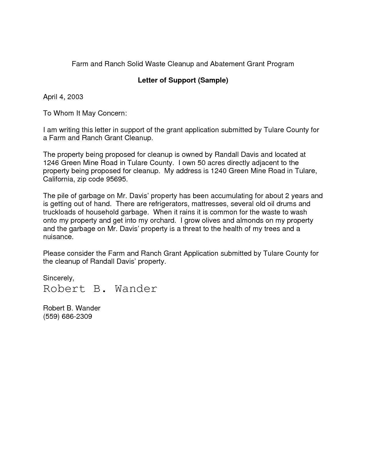 How To Make Cover Letter Resume Cover Letter For Nih Grant Application Grant Cover Letter Resume .