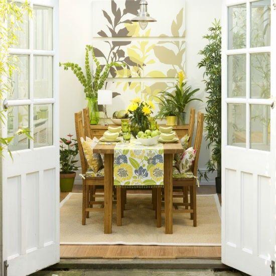 39 Pretty Small Garden Ideas: Conservatory Decorating Ideas