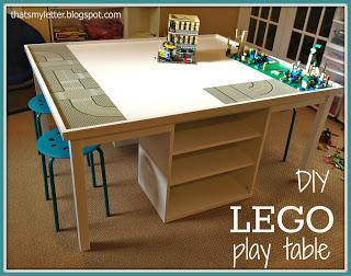 DIY Lego Play Table - Jaime Costiglio