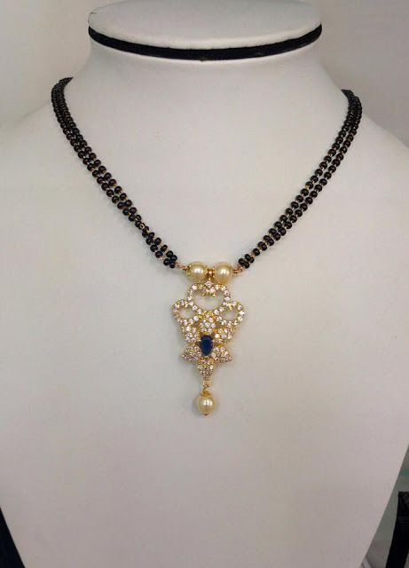 913429bbdfe Exclusive Black beads Chain With Pendent Collection in 2019