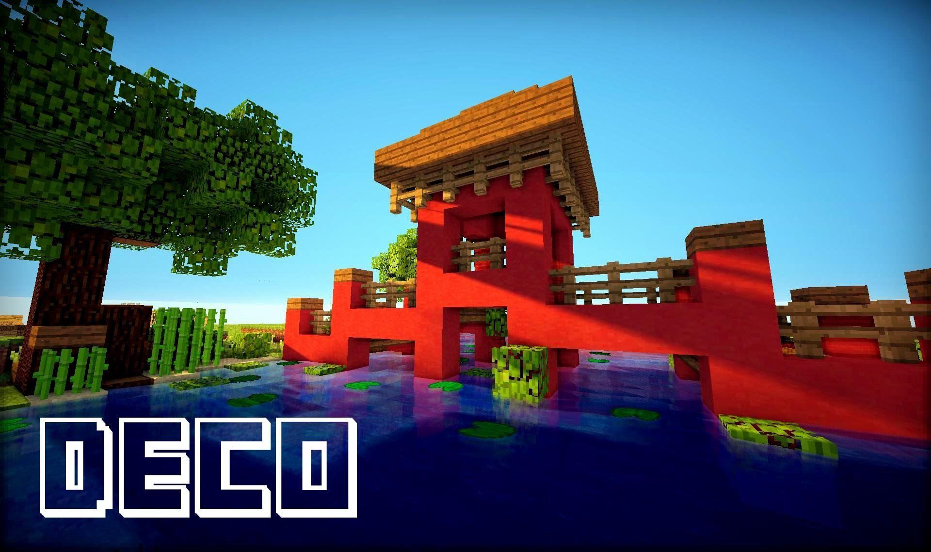 Minecraft Creer Un Pont Asiatique Minecraft Pont Asiatique