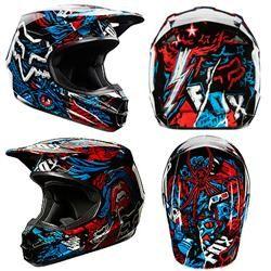 Fox V1 Creepin Helmet 2014$159.95