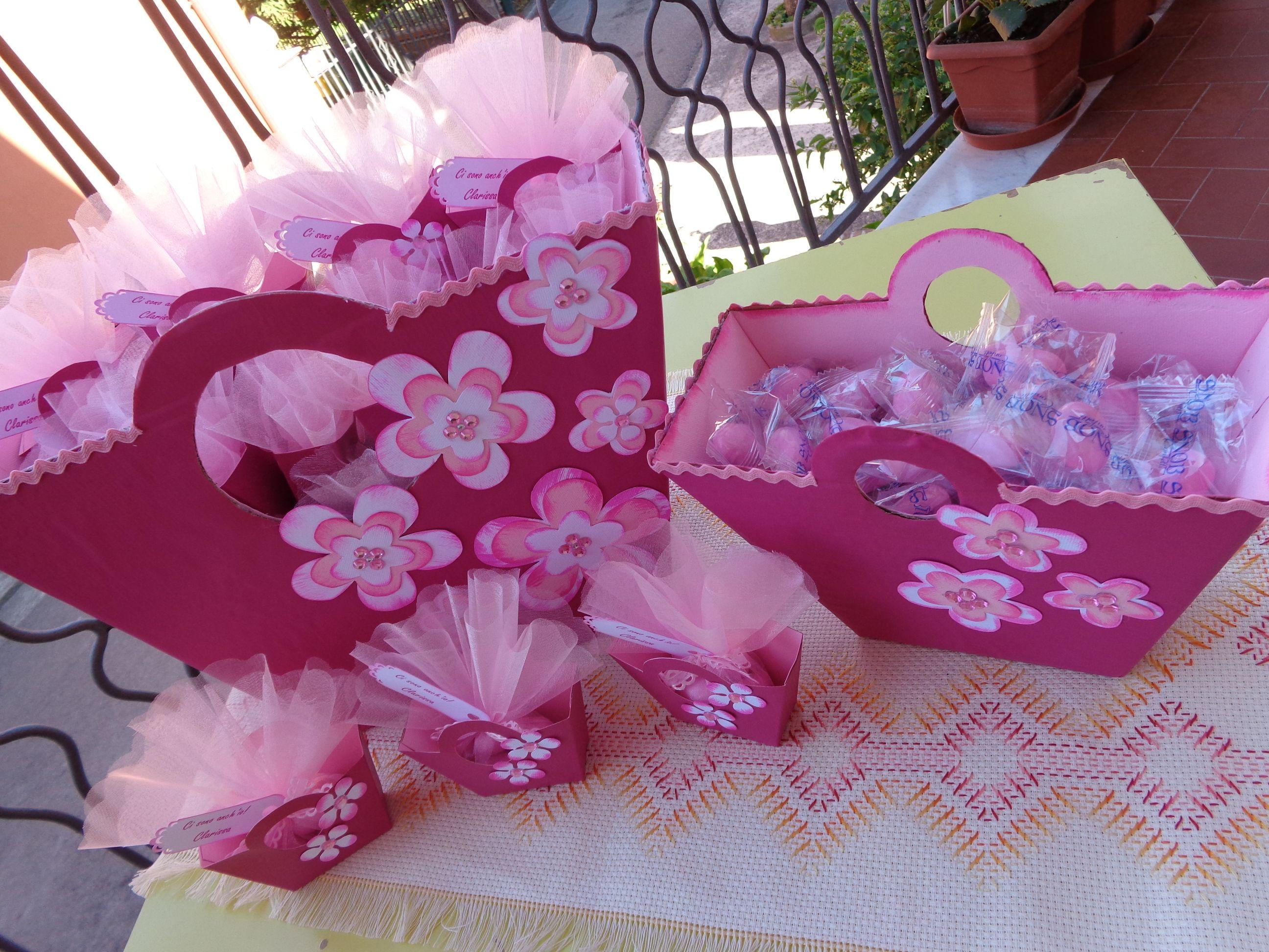 Favorito Coordinato porta confetti per una nascita | Nascita - Battesimo  LV72