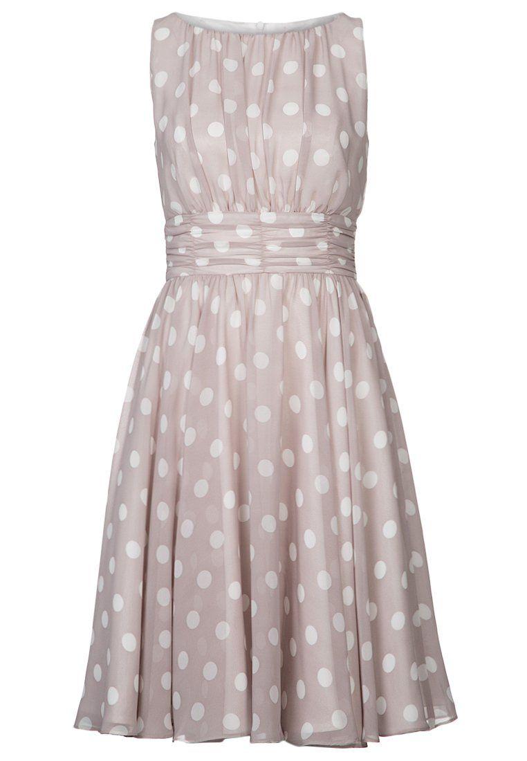 Swing - Cocktailkleid / festliches Kleid - flieder/weiß/ivory | Mode ...