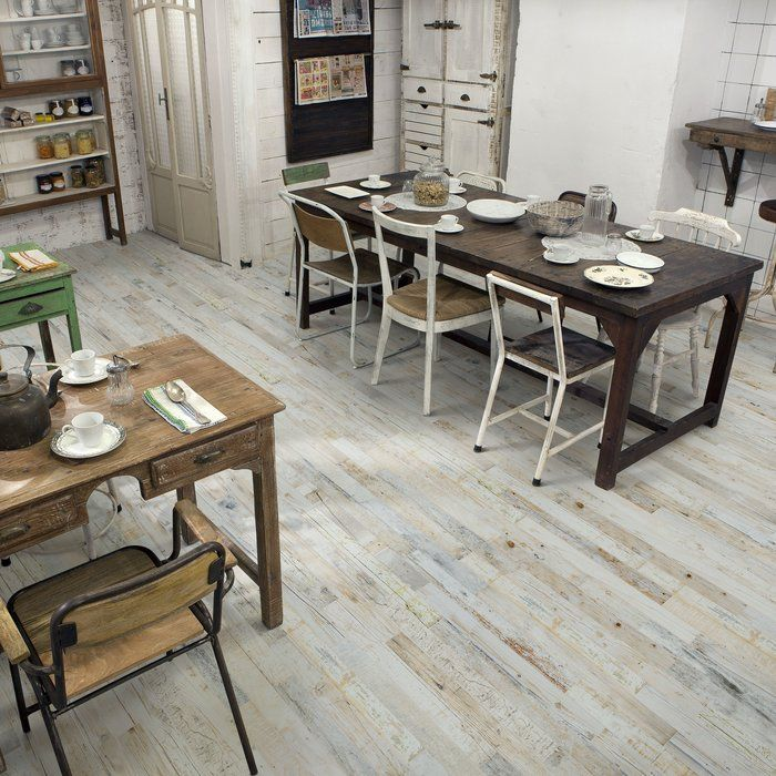 Capture A Wood Look With The Durability Of A Ceramic Tile With The