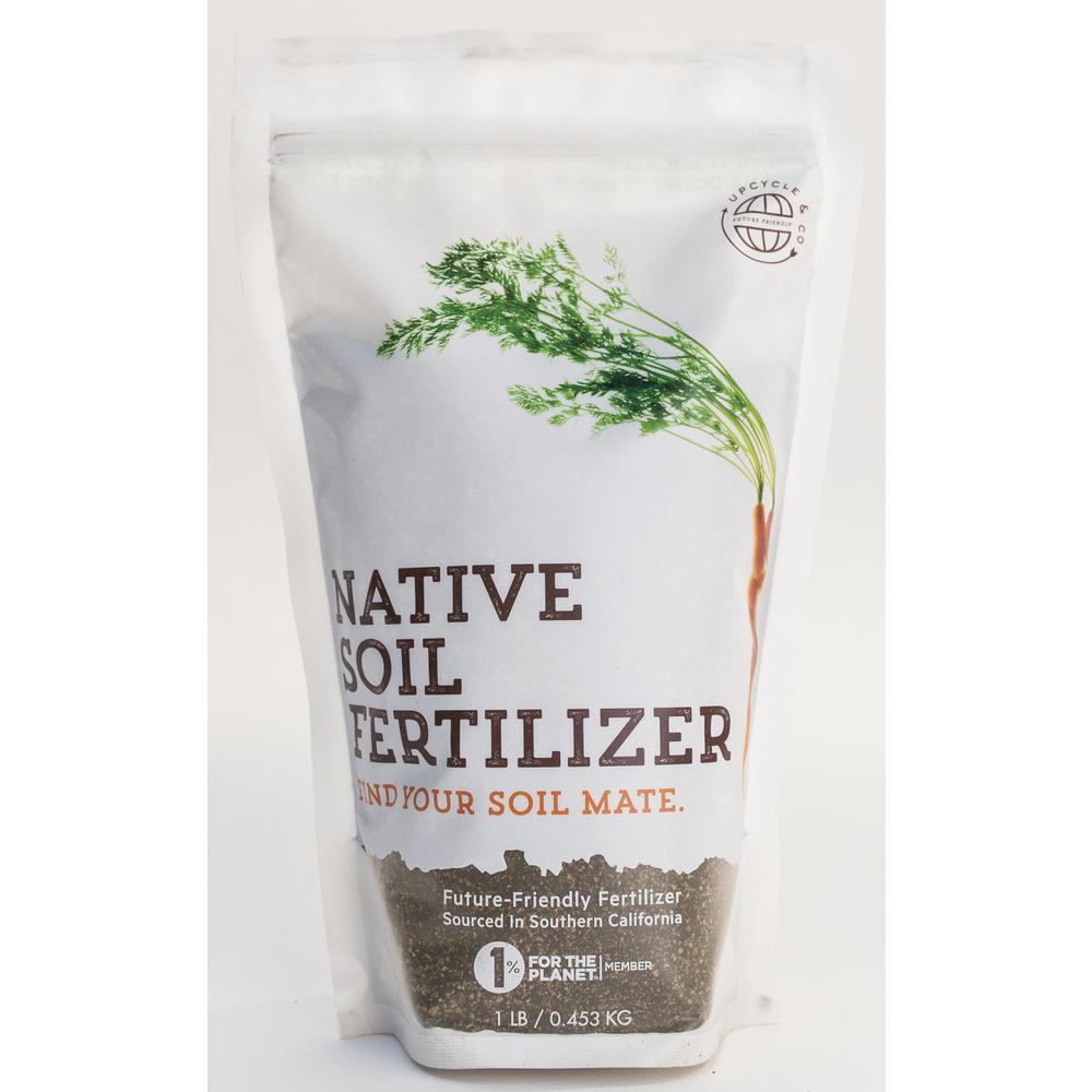 Native Soil 1 lb. Natural Dry Fertilizer and Soil