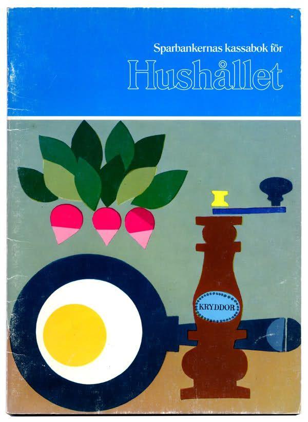 Hushållet\' swedish home economics book   Graphic Design ...