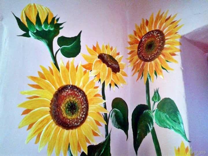 Pin By Renata On Malowane Sciany Murale Plants Pineapple Fruit