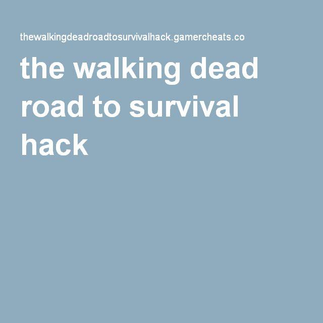The Walking Dead Road To Survival Hack Generator