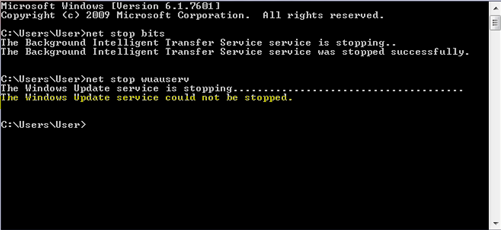 If You Are Trying To Stop Windows Update Service Using Command Prompt But You Receive A Message The Windows Update Service Windows How To Get What You Can Do