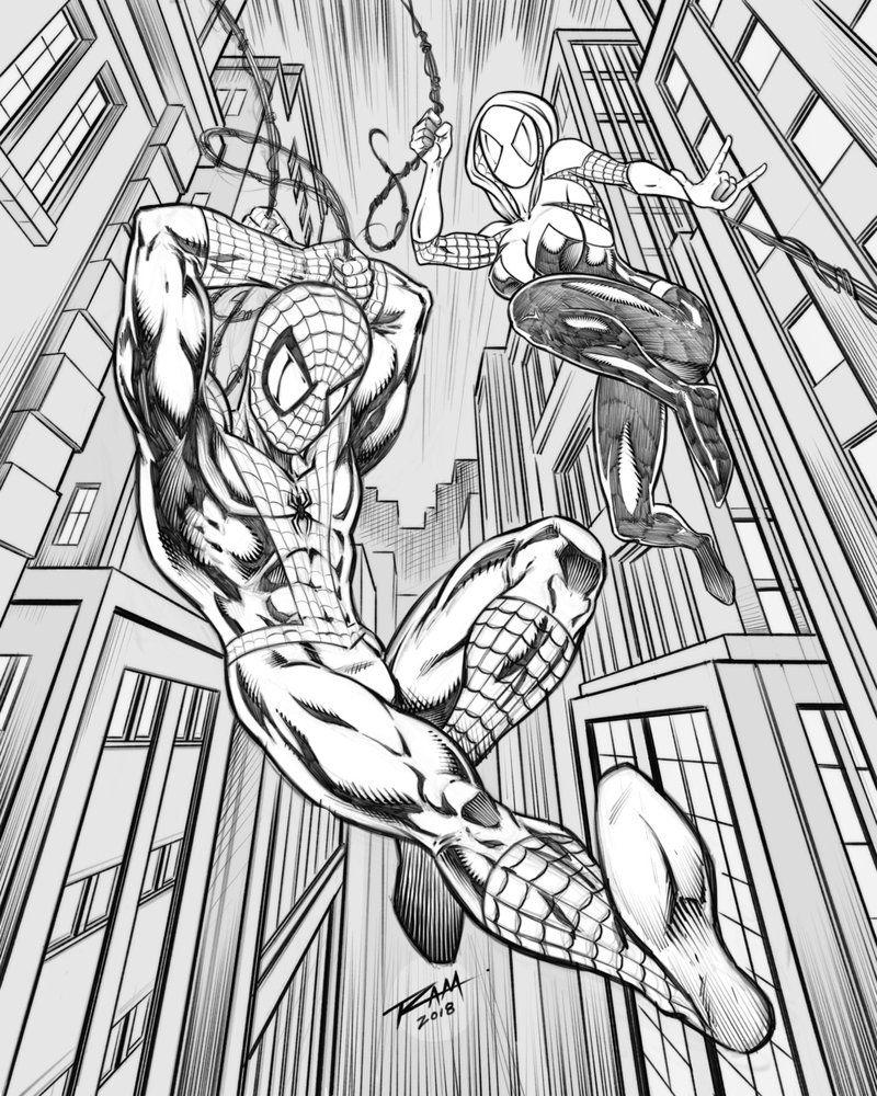 Pin by Ram Studios Comics on iPad Art | Spider gwen