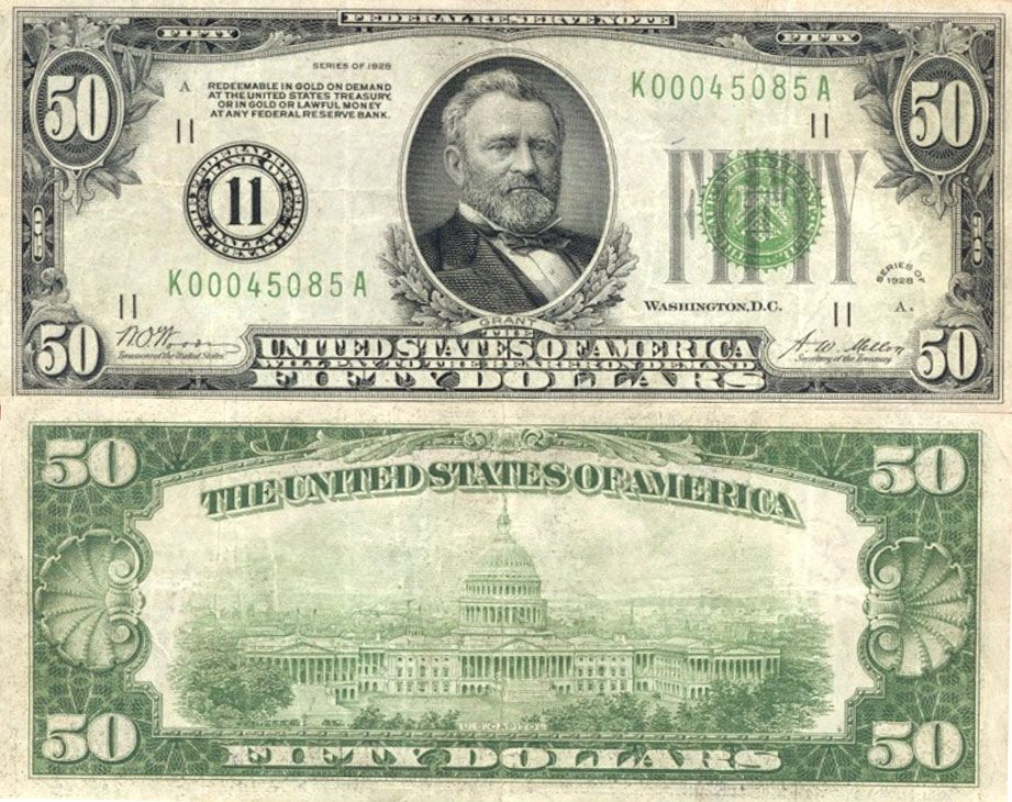 The Federal Reserve In The 1920s New World Economics Money Template Dollar Bill Federal Reserve Note