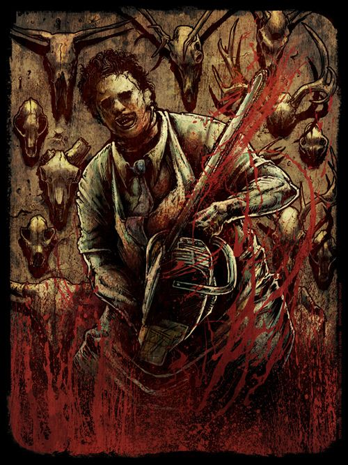 leatherface artwork | Leatherface Art
