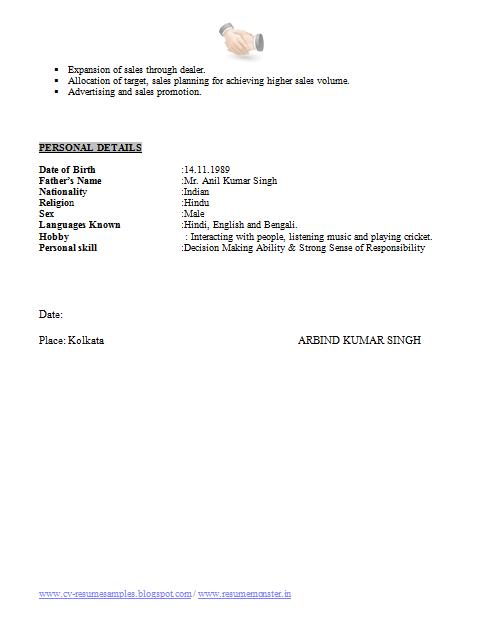 Ba Resume Format Page 2 Png 481 618 Resume Format Resume Format Download Resume
