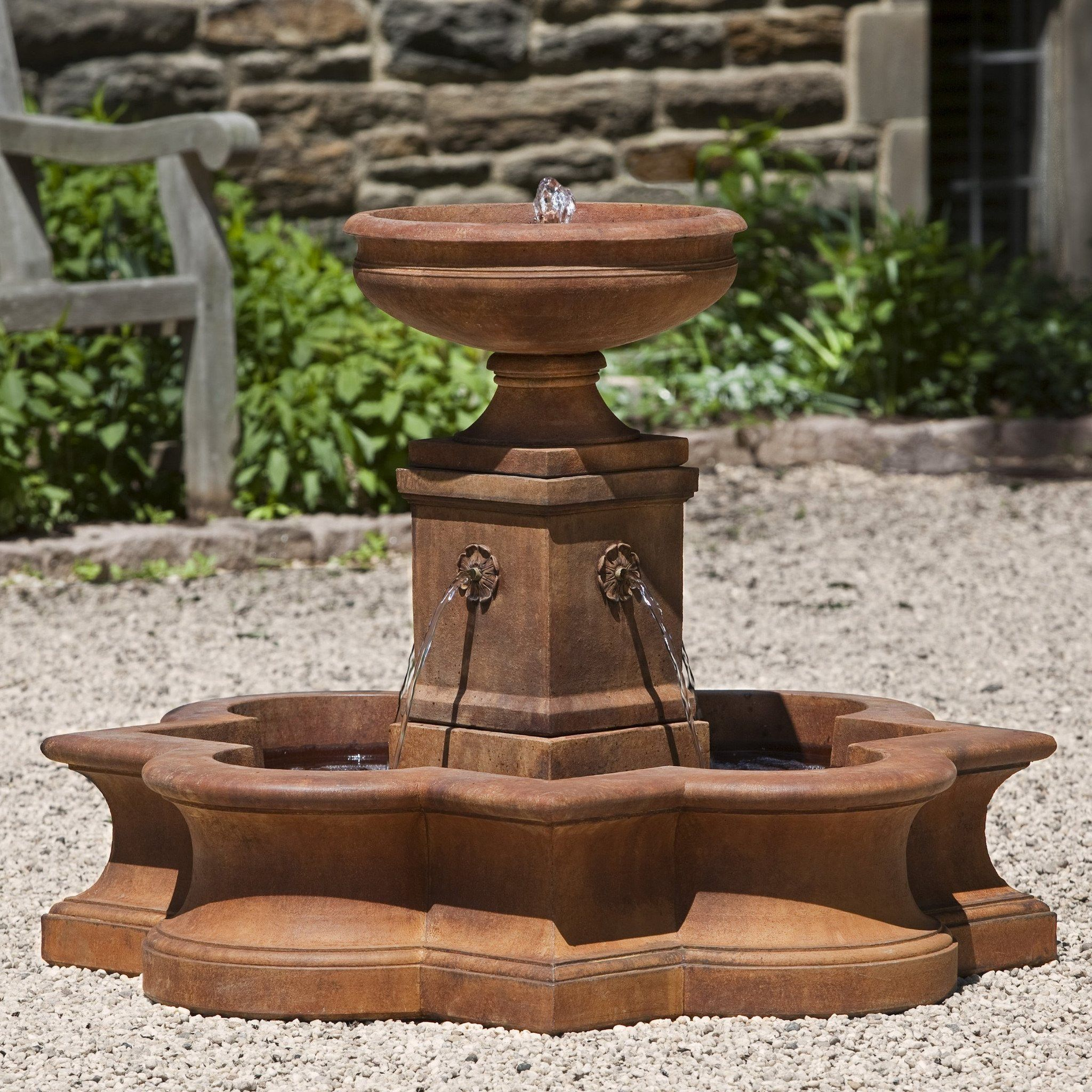 Beauvais Water Fountain with Basin | Water fountains, Fountain and ...