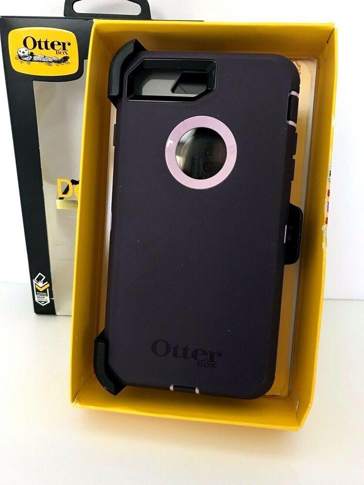 New Otter Box Defender Case Purple Pink For Iphone 8 Plus 7 Plus Authentic Oem Otterbox Iphone 8 Plus Iphone Cases Iphone