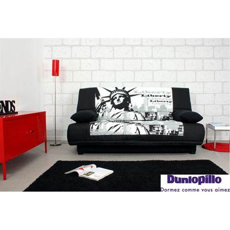 Canape Clic Clac New York De Dunlopillo Www Maison Facile