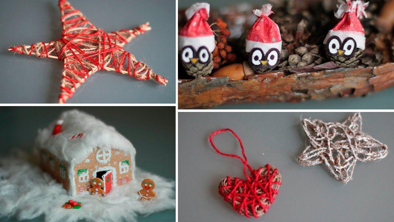 DIY: Новогодние поделки  (2015 Видео перезалито по техническим причинам)