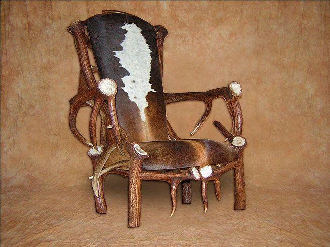 Cow Design Furniture Antler Functional Works Of Art