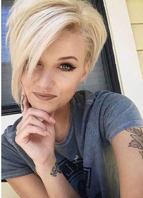 Best Short Hairstyles For Thick And Straight Hair Best Hair Hairstyles Short Straight Thick Short Hair Styles Hair Styles Short Hair Trends