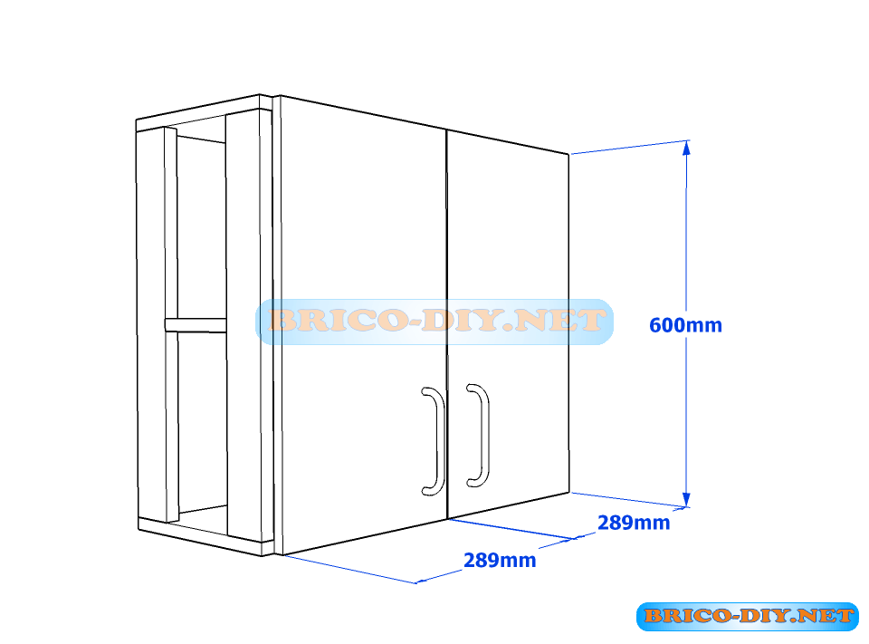 plano mueble de cocina melamina solpresa pinterest On plano mueble cocina