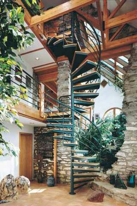 Three Floor Spiral Staircase Perfect Build A Home In