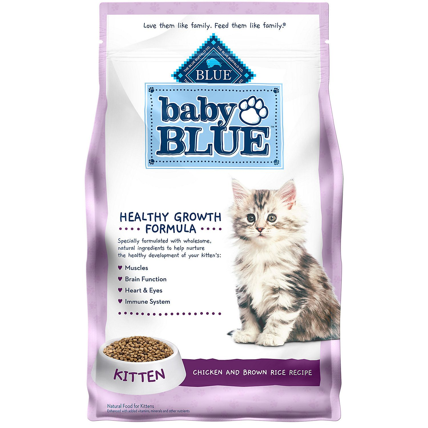 Blue Buffalo Baby Blue Healthy Growth Formula Natural Chicken And