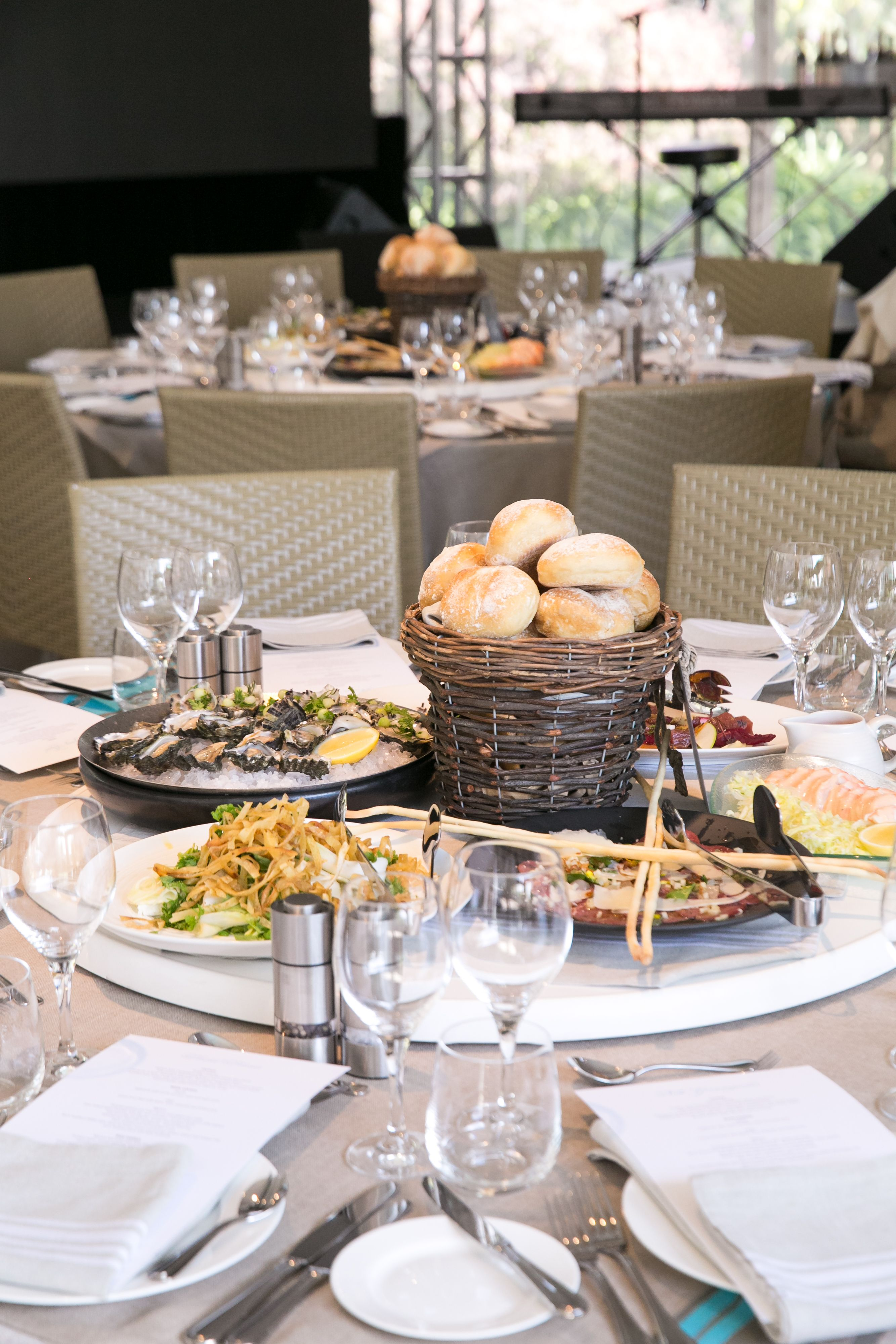 Event Decor, Tuscan, Table Setting, Centerpiece Relish Catering + E ...
