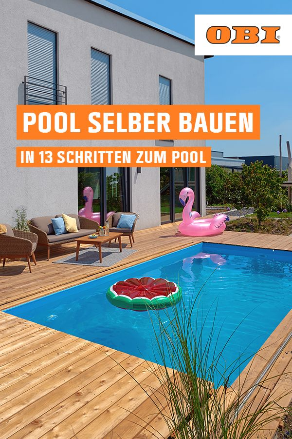 Photo of Pool selber bauen – Schritt für Schritt zum eigenen Pool