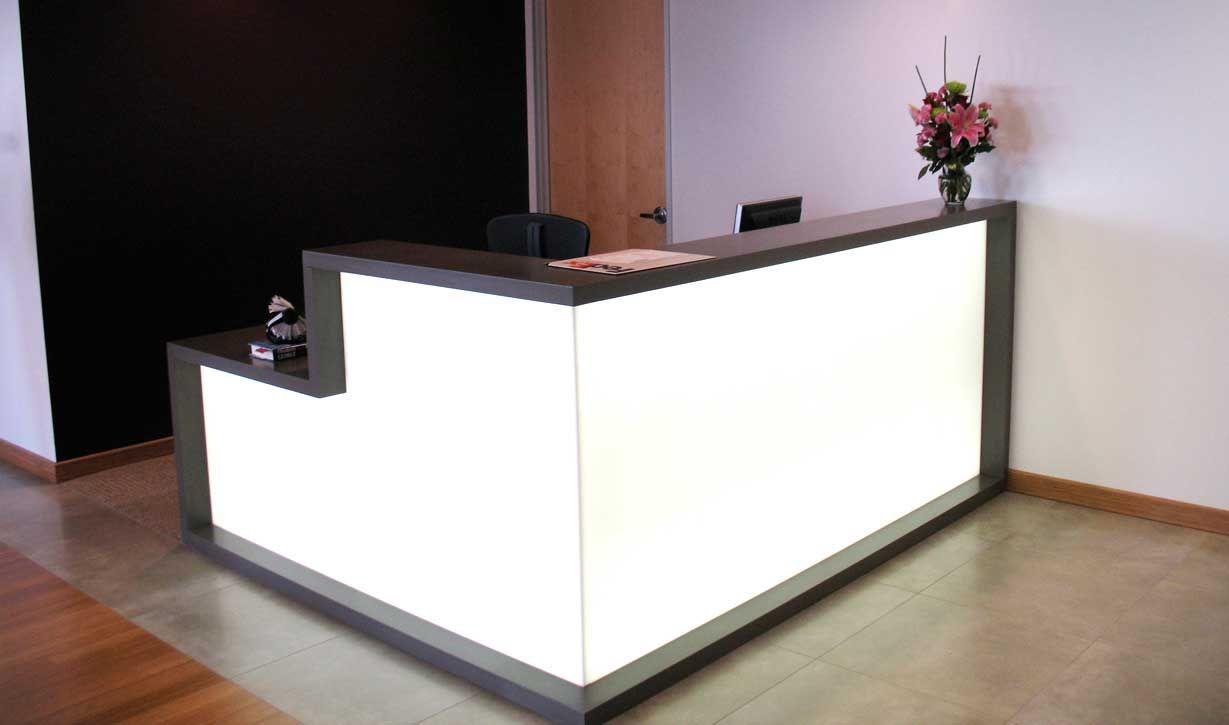 Black And White Clean Reception Desk Reception Desk Office Reception Furniture Reception Desk Design
