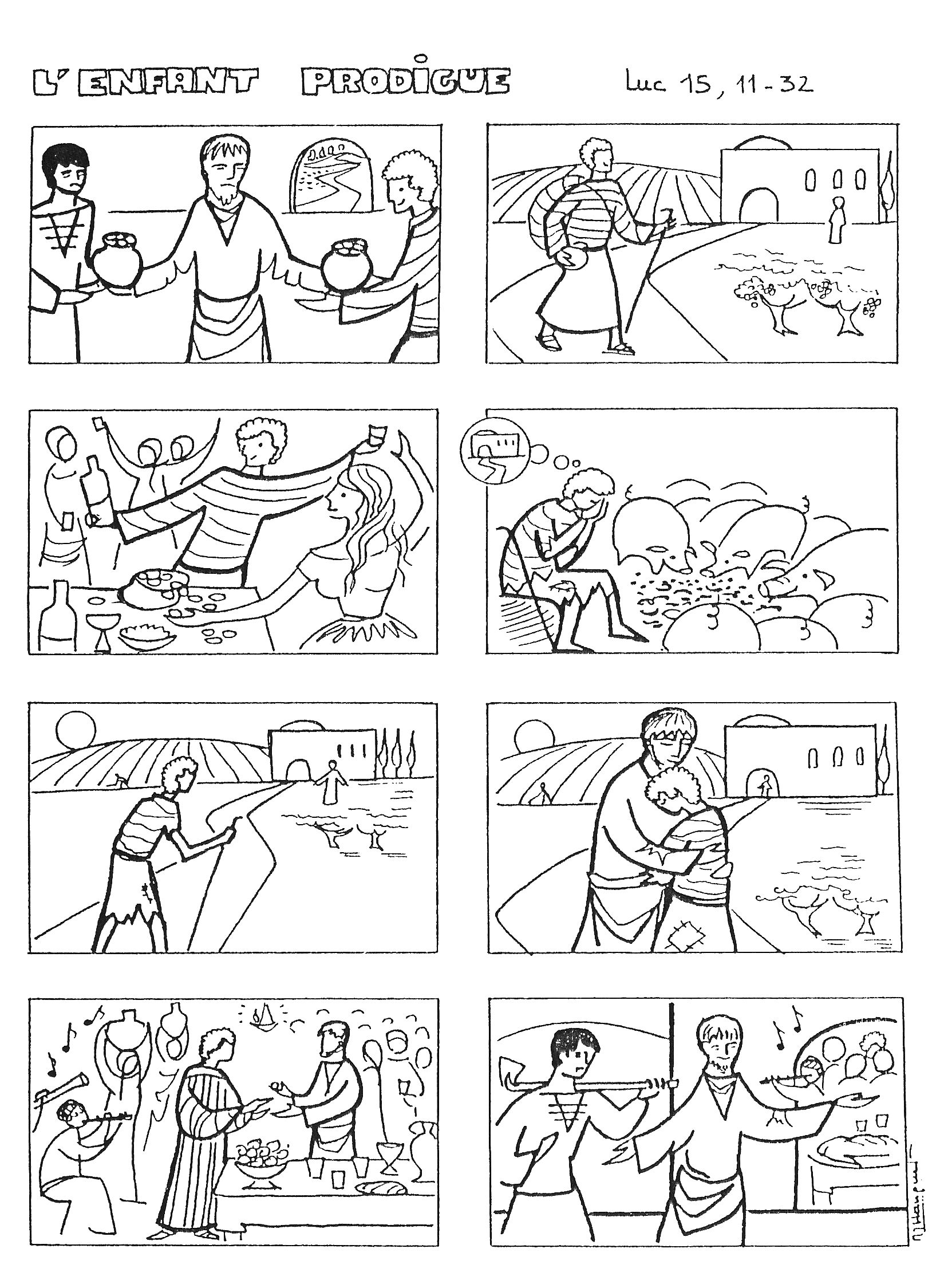 Stories joseph bible coloring pages stories best free for Joseph king of dreams coloring pages