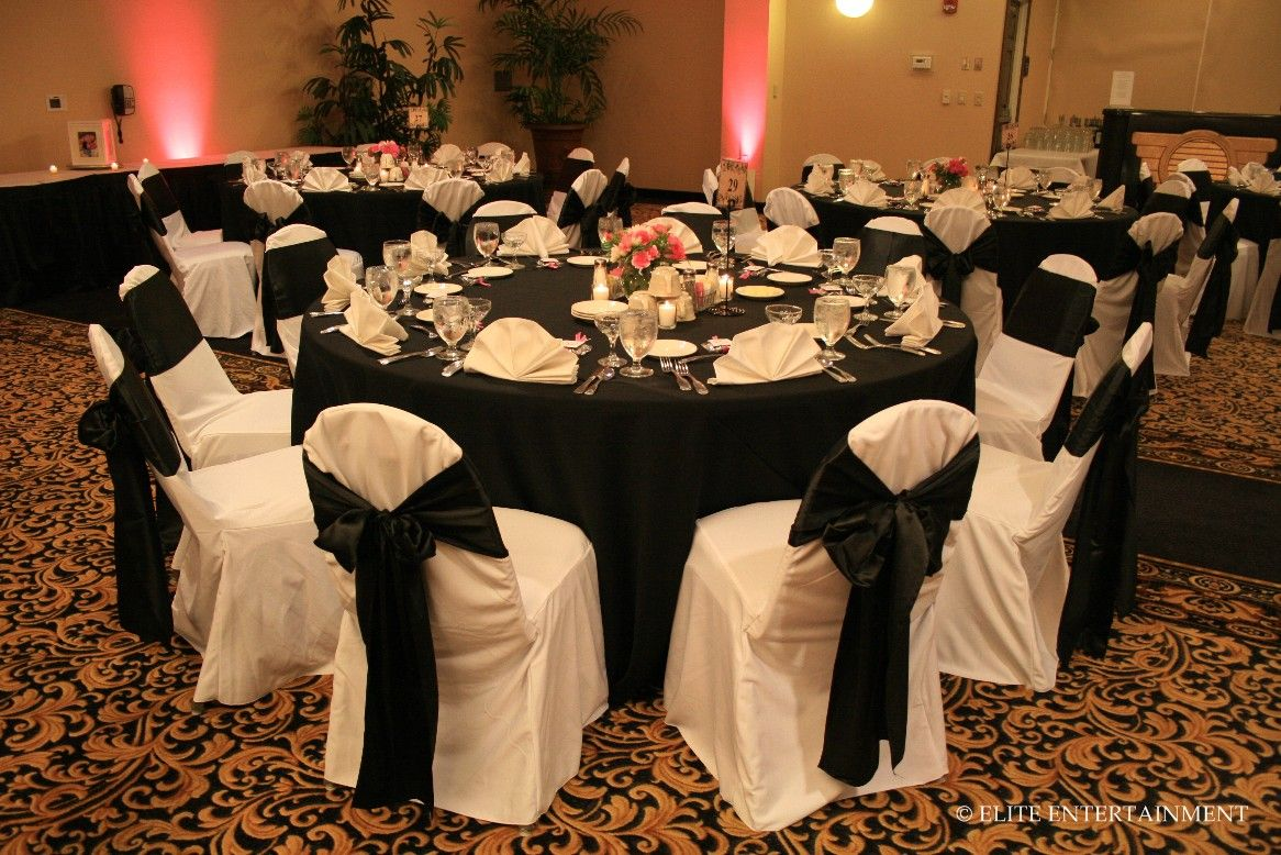 Chair Covers And Table Cloth To Use Black Tablecloth Wedding