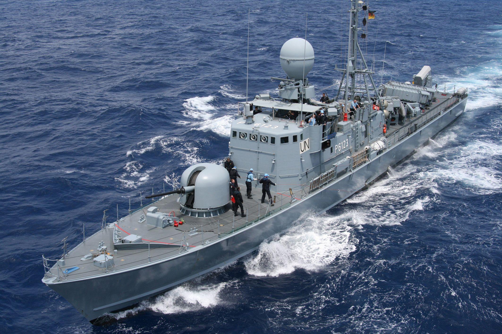 German gepardclass fast attack craft s 73 hermelin 2126