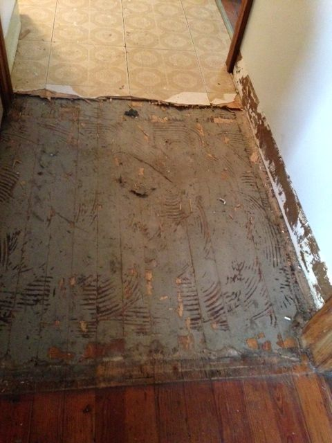 Removing Vinyl And Wood Subfloor Over