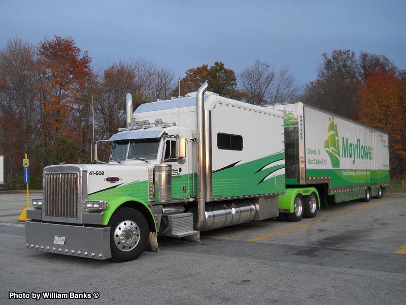 Mayflower With Images Big Rig Trucks Trucks Big Trucks