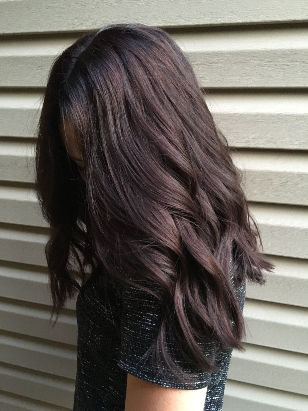 Color de pelo dark brown