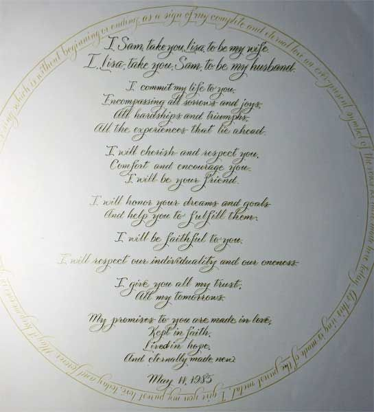 fabulous christian wedding vows