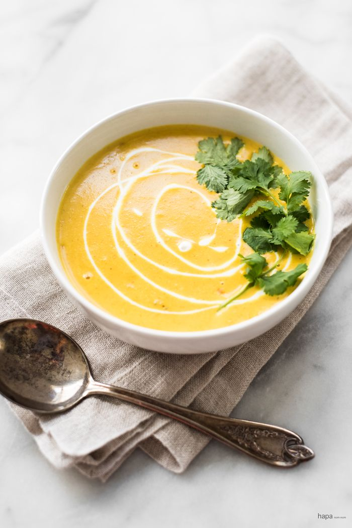 Super Creamy Mulligatawny Soup #mulligatawnysoup