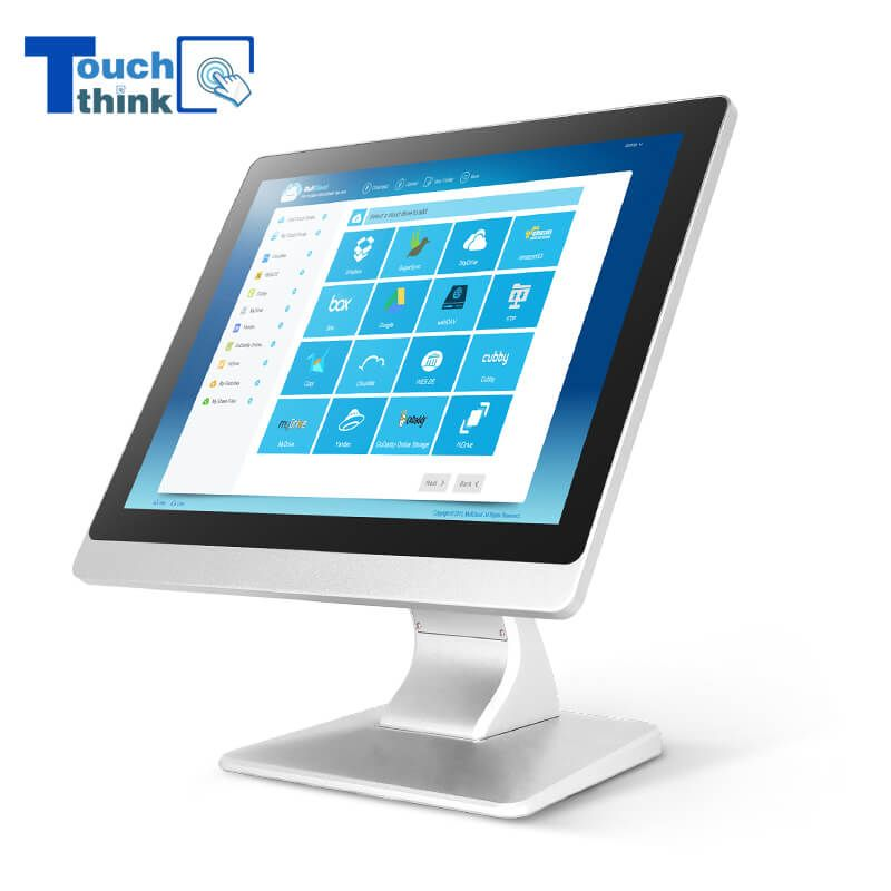 17 Inch Industrial Desktop Monitor Touch Screen Monitor Industrial Display