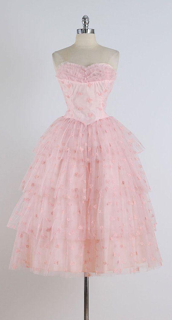 Sanguine . vintage 1950s dress . vintage by millstreetvintage | mill ...