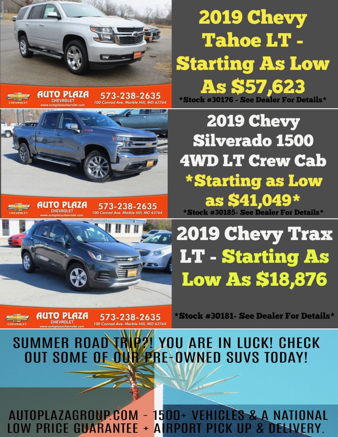 Phenomenal Deals This Month On Brand New Vehicles Planning A