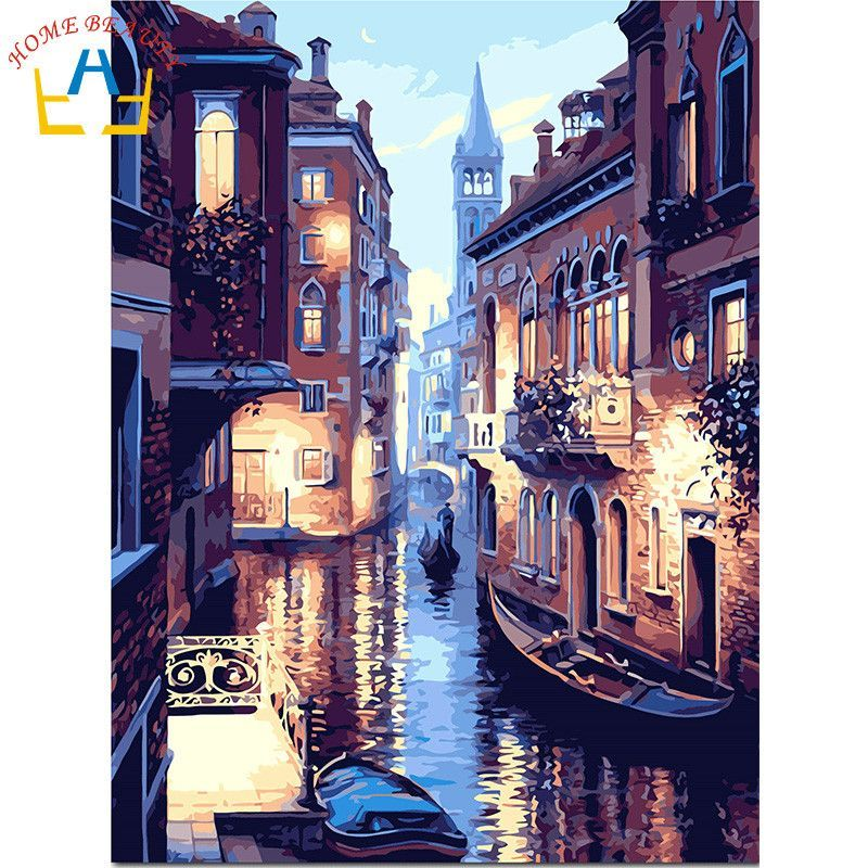 Now Available #fashion #shopping: HOME BEAUTY oil p... Check it out here! http://giftery-shop.com/products/home-beauty-oil-paint-painting-by-numbers-diy-picture-drawing-coloring-on-canvas-painting-by-hand-wall-paint-landscape-y052?utm_campaign=social_autopilot&utm_source=pin&utm_medium=pin