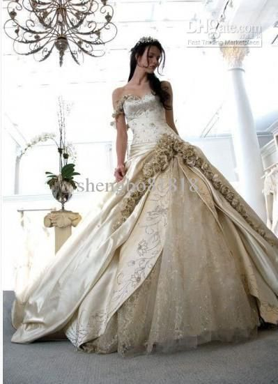 Wholesale Wedding Dress - Buy Designer Gorgeous Top Quality BallGown 2011 Wedding Dress/One-Shoulder/Chapel Train/lace Up Closure, $153.41 | DHgate