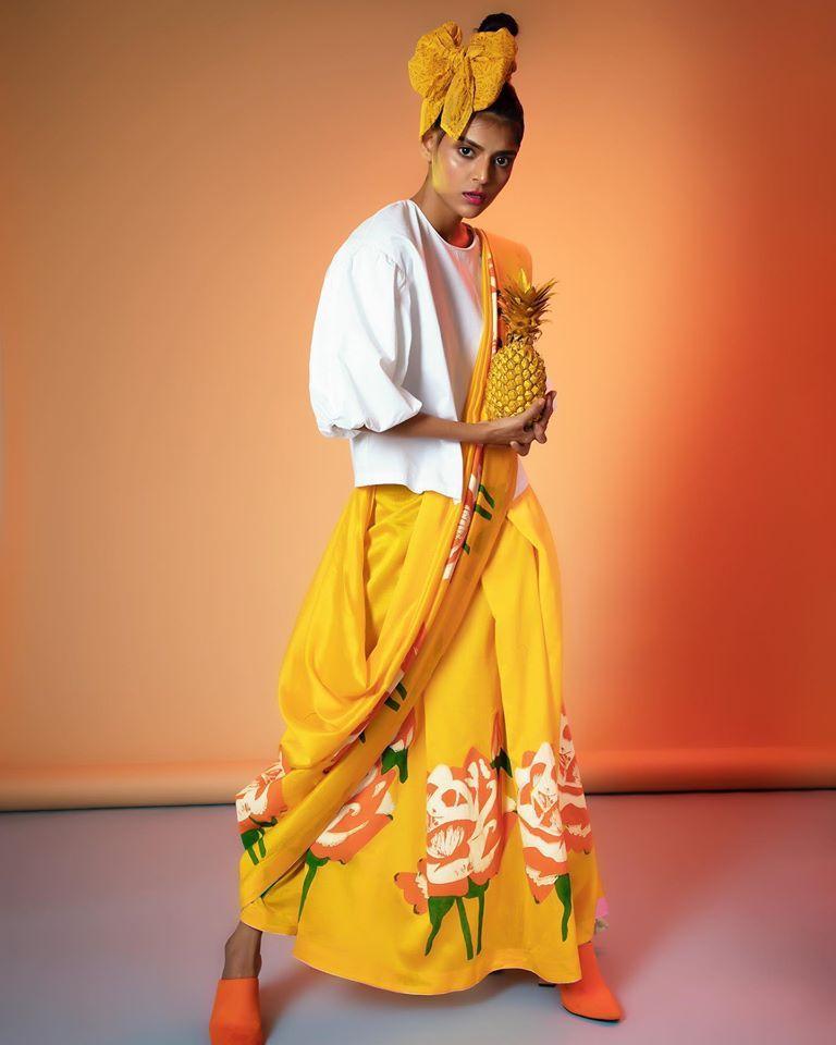 Go Off Beat Desi With Anupamaa Dayal This Season Shop The Designer At Pernia S Pop Up Studio Waterfield Road Bandra West Wear Store Designer Wear Beautiful Saree