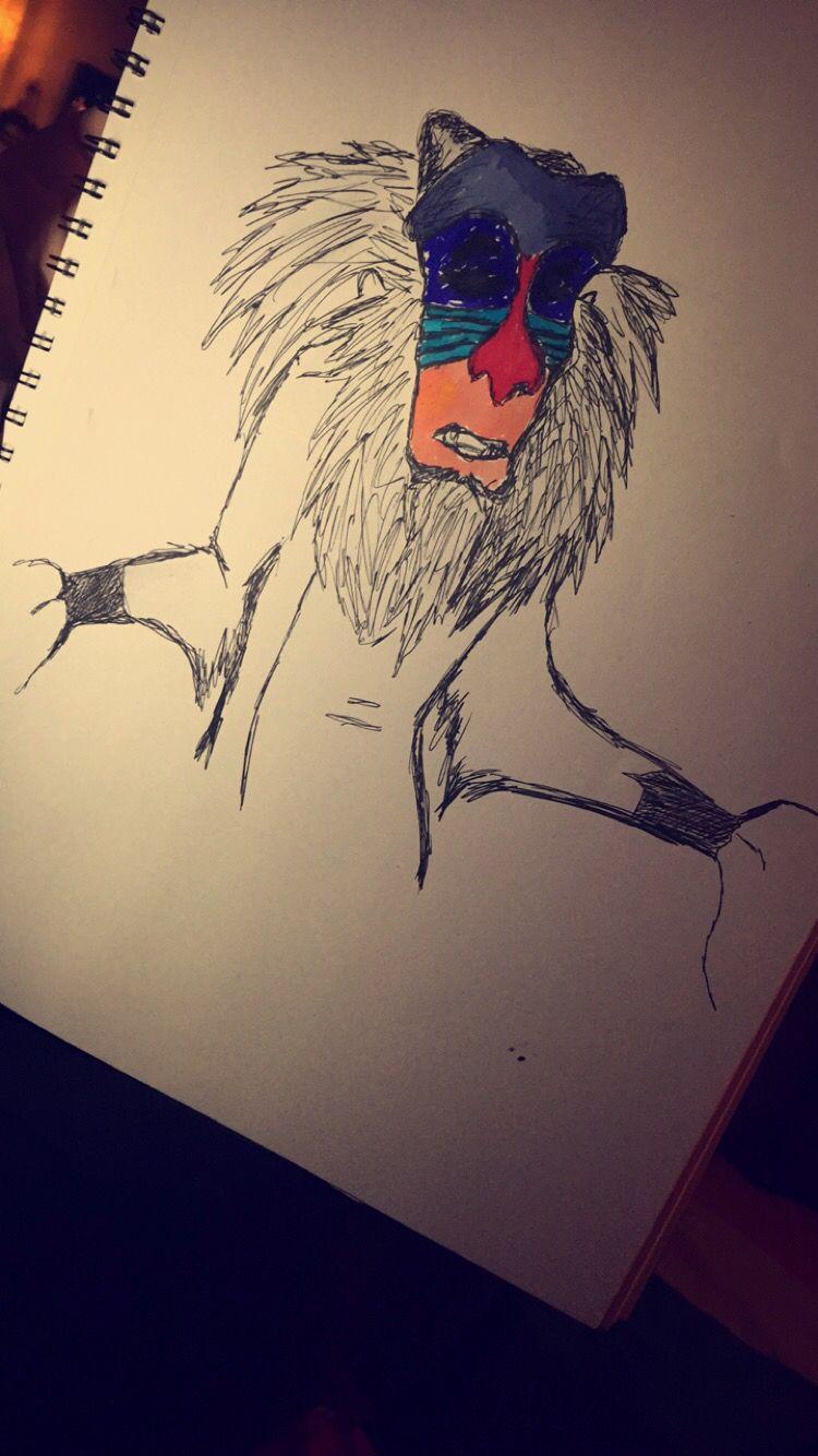Quick pen sketch