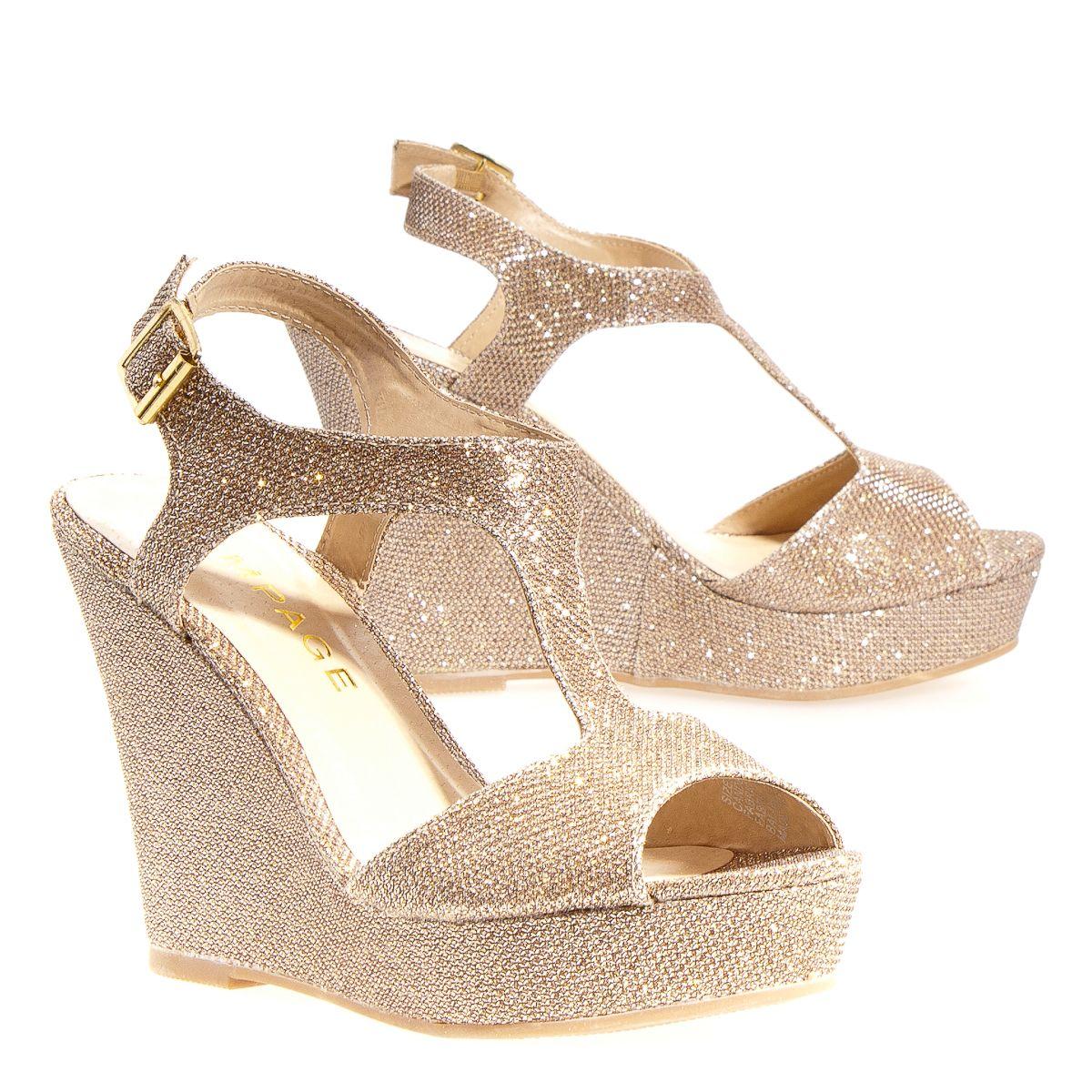 Rampage Candelas Women's Heel/Wedges: Blush 9