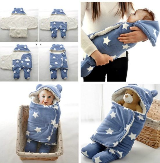 Baby Star Wrap Blanket Is Very Easy To Make The Ojays Wraps And