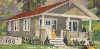 Examples Of Houses For Sale In The 1920s With Photos, Prices And  Descriptions. Self Build ...
