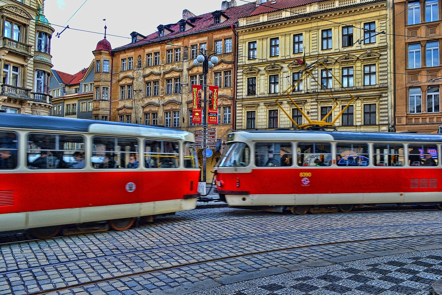 The classic beauty and colours of #Prague #OldTown ~ #CzechRepublic