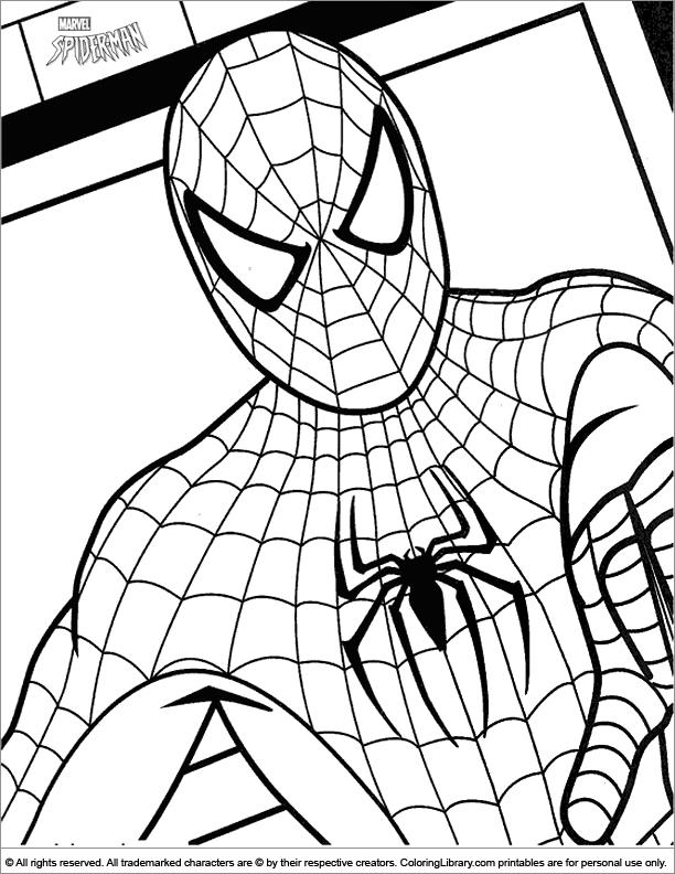 Groß Druckbare Malvorlagen Von Spiderman Bilder - Ideen färben ...